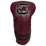 South Carolina Gamecocks Vintage Golf Driver Head Cover