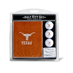 Texas Longhorns Embroidered Golf Gift Set