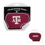 Texas A&M Aggies Blade Golf Putter Cover