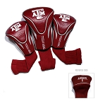 Texas A&M Aggies Golf Contour 3 pack Head Covers