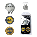 UCLA Bruins 2 Marker Golf Hat Clip