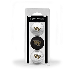 Wake Forest Demon Deacons Golf Ball Clamshell