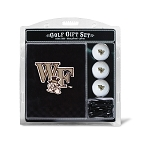 Wake Forest Demon Deacons Embroidered Golf Gift Set