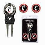Cincinnati Bearcats Golf Divot Tool Set