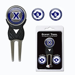 Xavier Musketeers Golf Divot Tool Set