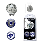 Xavier Musketeers 2 Marker Golf Hat Clip