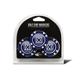 Xavier Musketeers Golf 3 Pack Poker Chip