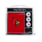 Louisville Cardinals Embroidered Golf Gift Set