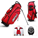 Louisville Cardinals Golf Fairway Stand Bag