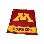 Minnesota Golden Gophers Woven Golf Towel