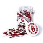 Oklahoma Sooners Golf 175 Tee Jar