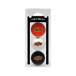 Oklahoma State Cowboys Golf Ball Clamshell
