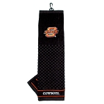 Oklahoma State Cowboys Embroidered Golf Towel