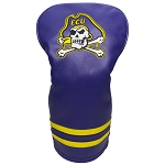 East Carolina Pirates Vintage Golf Driver Head Cover