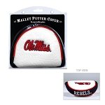 Mississippi Rebels Mallet Golf Putter Cover