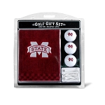 Mississippi State Bulldogs Embroidered Golf Gift Set