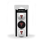 Texas Tech Red Raiders Golf Ball Clamshell