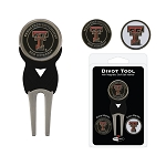 Texas Tech Red Raiders Golf Divot Tool Set