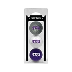 Texas Christian University Horned Frogs Golf Ball Clamshell