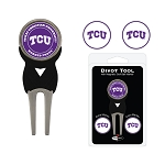 Texas Christian University Horned Frogs Golf Divot Tool Set