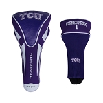 Texas Christian University Horned Frogs Apex Golf Driver Head Cover