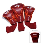 Virginia Tech Hokies Golf Contour 3 pack Head Covers