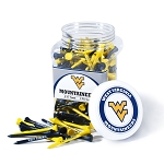 West Virginia Mountaineers Golf 175 Tee Jar