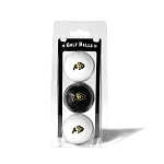 Colorado Buffalos Golf Ball Clamshell