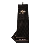 Colorado Buffalos Embroidered Golf Towel
