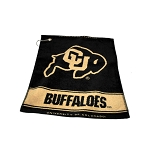 Colorado Buffalos Woven Golf Towel