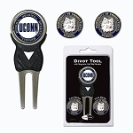 Connecticut Huskies Golf Divot Tool Set