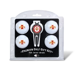 Iowa State Cyclones 4 Ball Divot Tool Golf Gift Set