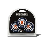 Syracuse Orange Golf 3 Pack Poker Chip