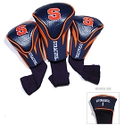 Syracuse Orange Golf Contour 3 pack Head Covers