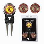 Southern California Trojans Golf Divot Tool Set