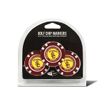 Southern California Trojans Golf 3 Pack Poker Chip