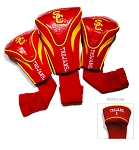 Southern California Trojans Golf Contour 3 pack Head Covers