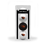 Oregon State Beavers Golf Ball Clamshell