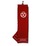 Harvard Crimson Embroidered Golf Towel