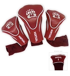 Montana Grizzlies Golf Contour 3 pack Head Covers