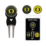 Oregon Ducks Golf Divot Tool Set