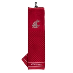 Washington State Cougars Embroidered Golf Towel