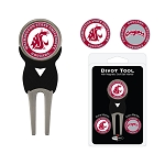 Washington State Cougars Golf Divot Tool Set
