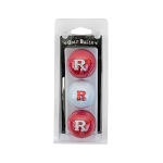 Rutgers Scarlett Knights Golf Ball Clamshell