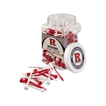 Rutgers Scarlett Knights Golf 175 Tee Jar