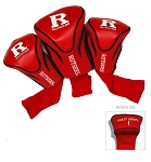 Rutgers Scarlett Knights Golf Contour 3 pack Head Covers