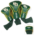Baylor Bears Golf Contour 3 pack Head Covers