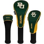 Baylor Bears Nylon Graphite Golf Set of 3 Head Covers