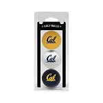 California-Berkeley Golden Bears Golf Ball Clamshell
