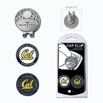 California-Berkeley Golden Bears 2 Marker Golf Hat Clip